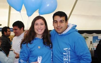 Jóvenes del proyecto Huella UDD