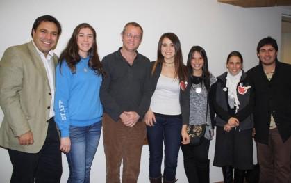 Jaime Weinborn, Consuelo Stemberga, Felipe Kast, Macarena León, Cecilia Saba, Mónica Astorga y Felipe Muñoz