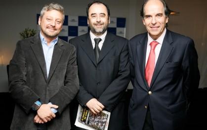 Juan Manuel Astorga, Eugenio Guzmán y Álvaro Fischer