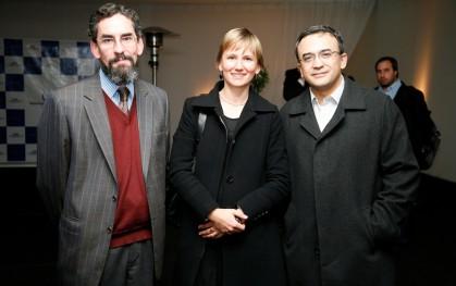 Juan Pablo Couyoumdjian, Catalina Mertz y Angel Soto