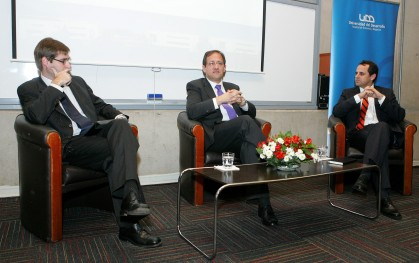 4 Daniel Contesse, Harald Beyer y Rodrigo Castro