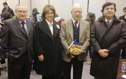 4 Pablo Rodríguez Grez, Cecily Halpern, Edmundo Pérez Yoma y Raúl Campusano