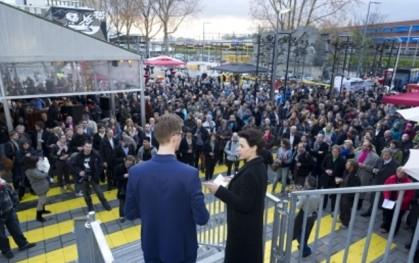 Inauguración Bienal de Rotterdam