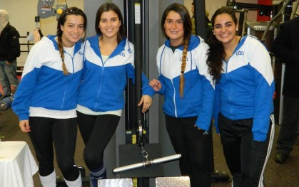 Lindsay Herlitz, Josefina Yañez, Lorena Bugmann, Constanza Elgueta.