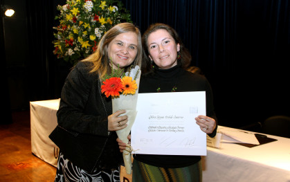 Perla Ben-Dov y Gloria Toledo.