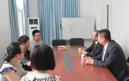 Reunión en China