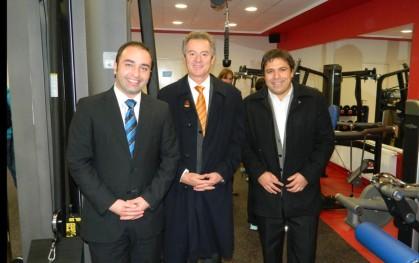 Rodrigo Arellano, Federico Valdés y Jaime Weinborn