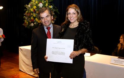 Sergio Hernández y María Antonella Urzúa.