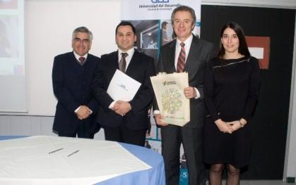 Luis Vicentela, Robinson Aguilera, Federico Valdés y Alejandra Amenábar.