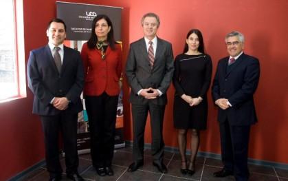 Robinson Aguilera, Florencia Jofré, Federico Valdés, Alejandra Amenábar, Luis Vicentela.