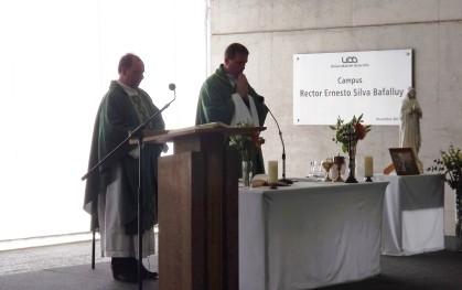 Padres José Luis Correa y Luis Miguel Herrera