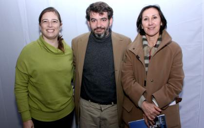 Ana María Borreo, Armando Roa y Ana María Paiva