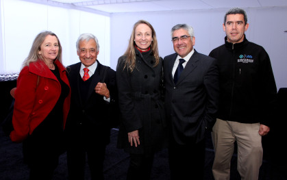 Angélica López, Juan Pablo Beca, Joice Hoberman, Luis Vicentela y Jorge Molina