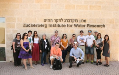 Innovadores del Futuro en el Zuckerberg Institute of Water Research