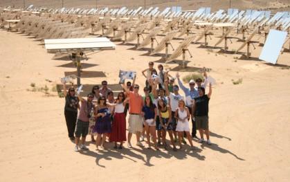 En la empresa de energía solar, Brightsource