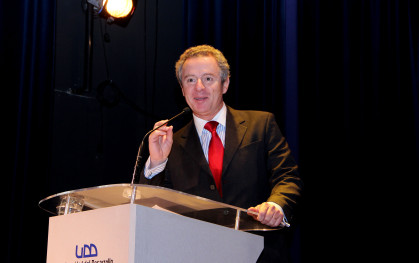 Federico Valdés, rector UDD
