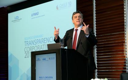 Ministro de Economía Pablo Longueira