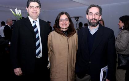 Rafael Romero, Claudia Blanco, Juan Pablo  Couyoumdjian