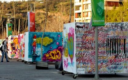 Street Art en Parque Bicentenario