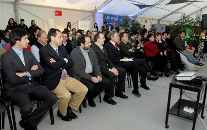 Asistentes al lanzamiento UDD Ventures en Concepción