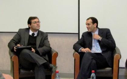 Sergio Verdugo junto a Mijail Bonito