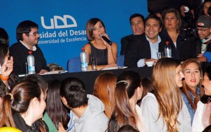 Alvaro Peña, Francisca García Huidobro y Jaime Weinborn