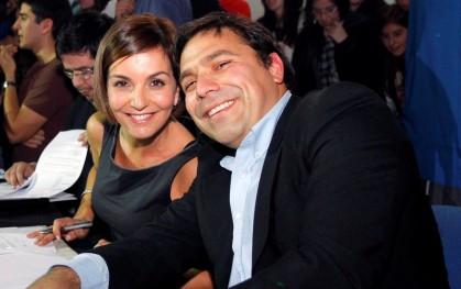 Francisca García Huidobro y Jaime Weinborn