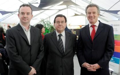 Paul O'Toole, Víctor Lobos y Federico Valdés