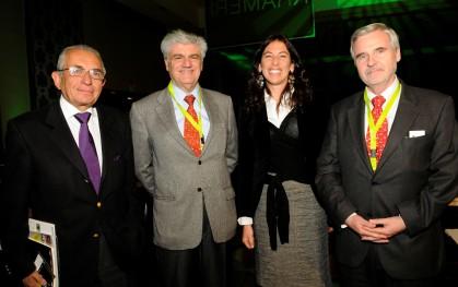 Carlos Cáceres, Carlos Eugenio Lavín, Magdalena Montero y Baltazar Sánchez