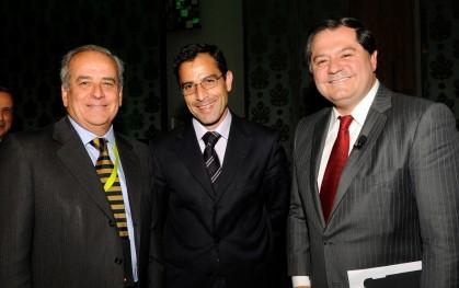 Carlos Alberto Peñafiel, Roberto Sapag y  Mauricio Bustamante