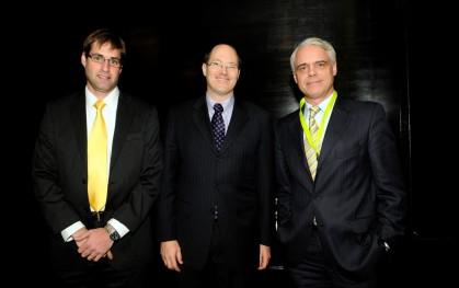 Daniel Contesse, Dane Smith y Claudio Hohmann