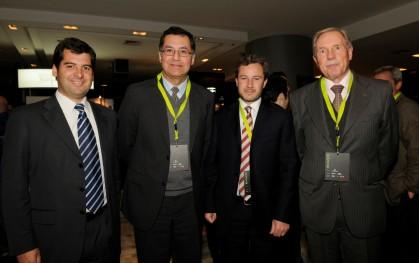 Pelayo Covarrubias, Mario Plaza, Daniel Pérez y Dirk Leisewitz.