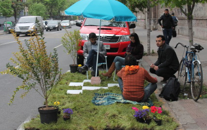 Lanzamiento Parking Day