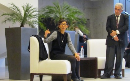 Kazuyo Sejima responde las preguntas de los alumnos