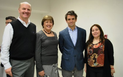 Martin Kowoll, Cecilia Velasco, Mario Gaete, Yasna Allende