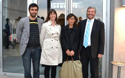Miguel Nazar, Carola Contesse, Kazuyo Sejima y Óscar Mackenney