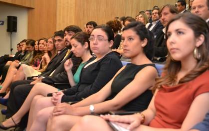 Los alumnos egresados de Periodismo. Concepción