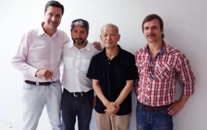 Alvaro Pacull, Javier Chávez, Ko Murobushi y Juan Pablo Bastidas