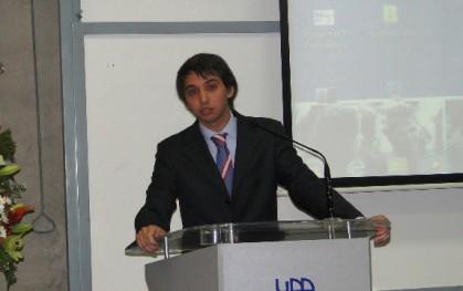 Ángel Urcola, presidente FEUDD