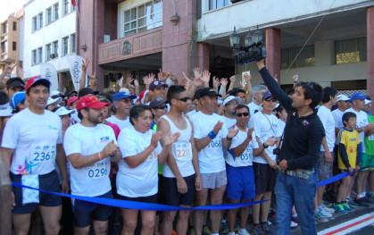 Corrida UDD en Concepción