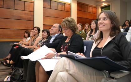 Los asistentes del Seminario en Concepción