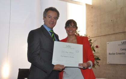 Federico Valdés junto a Lucila María Amoroso