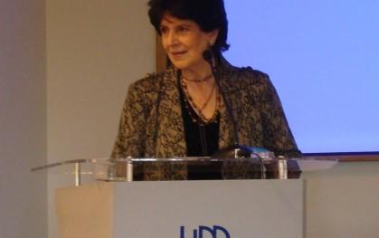 Gloria Carranza, decana de la Facultad de Educación y Humanidades