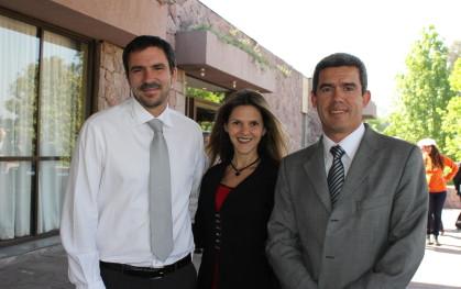 Gonzalo Fernández, Rinat Ratner, Jorge Molina