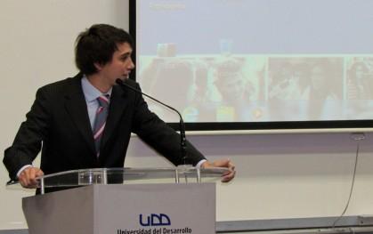 El presidente de la FEUDD, Ángel Urcola.