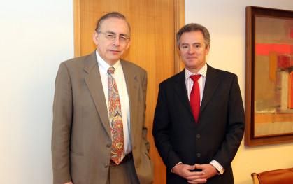 Augusto López Claros y Federico Valdés Lafontaine