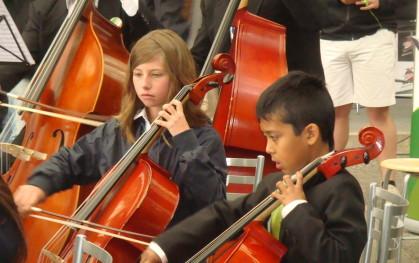 Miembros de la Orquesta