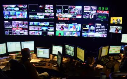 Panel de control de estudios en NBC