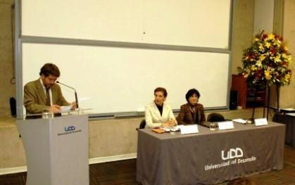 Armando Roa, Olga Pizarro y Gloria Carranza