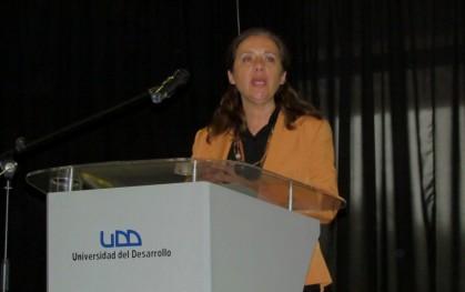 Directora de Docencia Santiago, Ana María Diaz